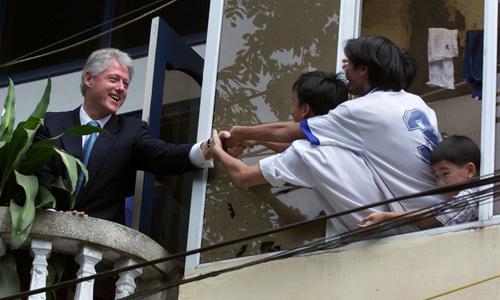 Clinton, Tổng thống Mỹ