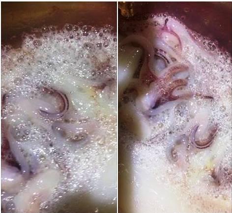 Mực tắm hóa chất, mực giả cao su: Ai dám ăn đặc sản