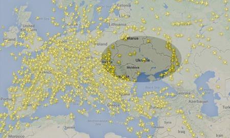 Sợ hãi, hàng không VN và thế giới tránh Ukraina
