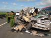 Tai nạn trên cao tốc do lái xe buồn ngủ, chạy quá tốc độ