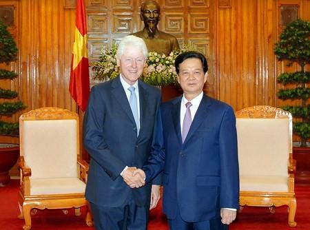 Thủ tướng, Nguyễn Tấn Dũng, cựu Tổng thống, Mỹ, Bill Clinton