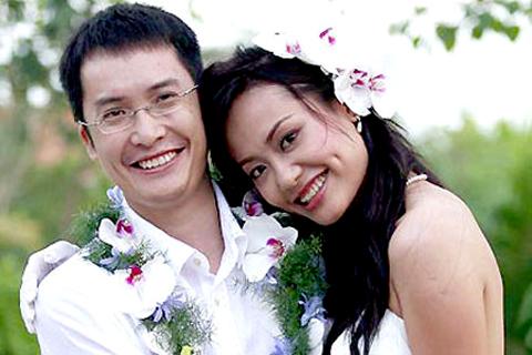 Hồng Ánh, vợ chồng, qua một lần đò, hôn nhân đổ vỡ