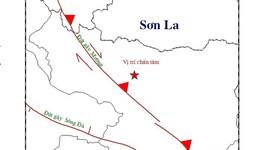 Động đất mạnh 4,3 độ richter ở Sơn La, rung chấn tới Hà Nội