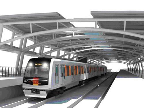 Metro Bến Thành- Suối Tiên sẽ chạy thử vào năm 2019