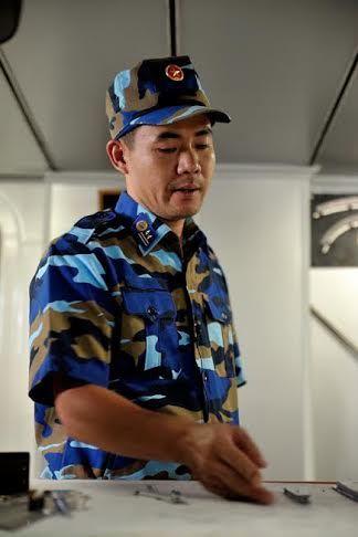 Hoàng sa, cảnh sát biển, chùm ảnh, ngư dân, Trung Quốc, giàn khoan HD 981