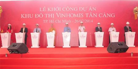 Vingroup khởi công dự án 'khủng' Tân Cảng Sài Gòn