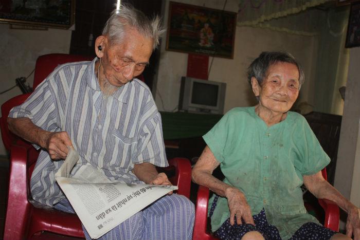 cao tuổi, kỷ lục, vợ chồng, Guiness, trường thọ, Cao Viễn, Vũ Thị Hai