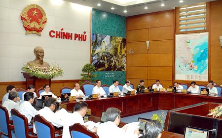 Thủ tướng, Nguyễn Tấn Dũng, tái cơ cấu, đầu tư công, cổ phần hóa, thủ tục hành chính