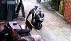 Clip trộm xe trong một phút tại Sài Gòn
