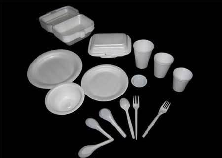 chất gây ung thư, chất dẻo polystyrene, hóa chất, hộp đựng cơm xốp, cốc xốp, đồ dùng 1 lần