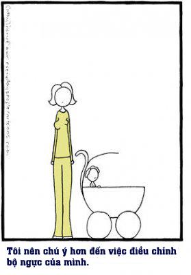 làm mẹ, em bé, chăm con
