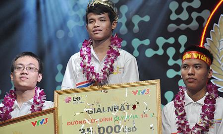 chân dung, nam sinh, vô địch, Olympia 2014, Tiền Giang