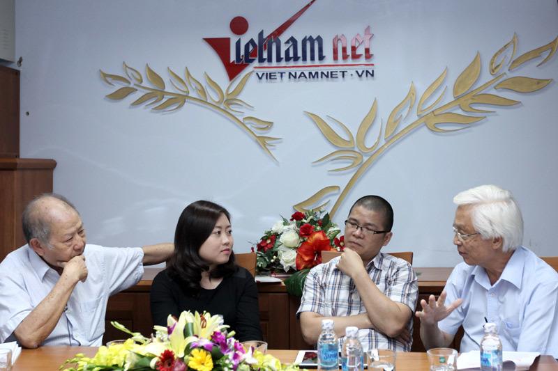 bàn tròn, trực tuyến, giáo dục, Chu Hảo, Giáp Văn Dương, Phạm Toàn