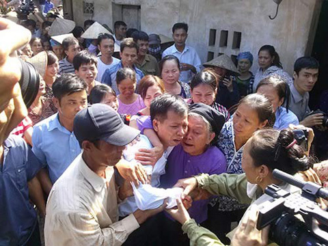 án oan; Nguyễn Thanh Chấn; bồi thường