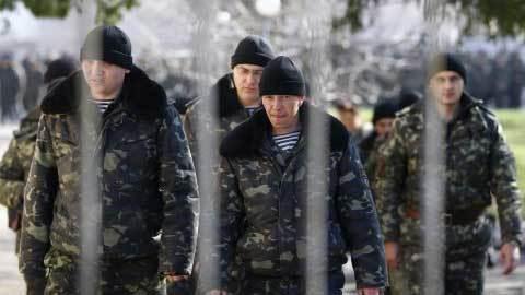 Nga, Ukraina, biên phòng, binh sĩ, tỵ nạn