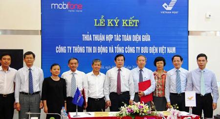 MobiFone và VNPost sẽ hợp tác toàn diện