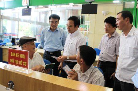 Đúng hẹn hồ sơ ở Trung tâm hành chính công Quảng Ninh
