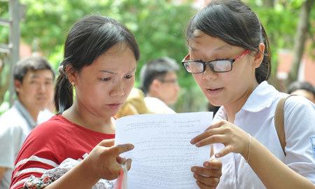 Thứ trưởng Bùi Văn Ga, một kỳ thi, tuyển sinh, đại học, Bộ GD-ĐT