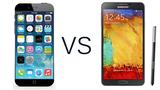 Samsung Galaxy Note 4 có thắng được iPhone 6?