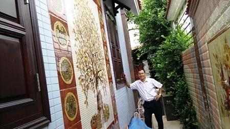 Căn nhà gỗ, đinh hương, nổi tiếng, Nghệ An, thợ mộc, thi công