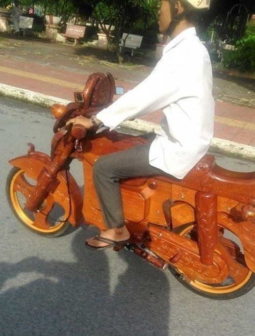 'Siêu xe' bằng gỗ độc nhất VN của dân chơi Cà Mau