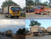 Nhan nhản xe quá tải khi thi công QL1A