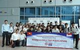 Sinh viên Việt sang Singapore kiến tập