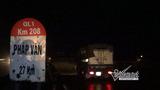 Hiện trường vụ thi thể bị nhiều xe chèn trên cao tốc