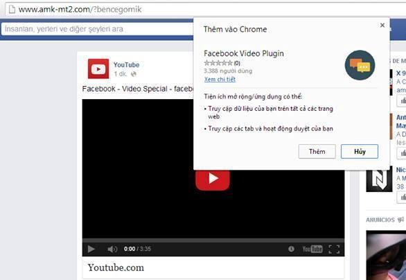 Facebook, messenger, tin nhắn, virus, video, trang web, nhiễm