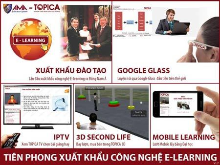 Tiên phong đẩy mạnh xu hướng E-learning ở Việt Nam
