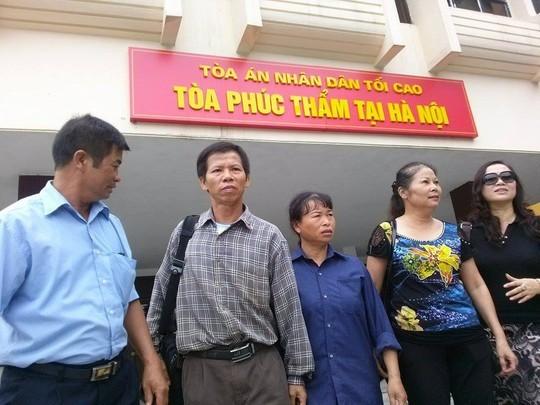 Nguyễn Thanh Chấn, án oan, bồi thường, minh oan, tòa án, phúc thẩm,