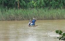 Người Hà Nội cũng đu dây qua sông