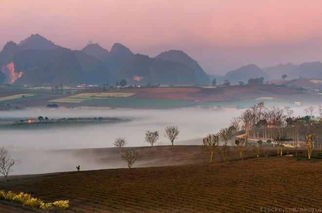 Mộc Châu, sương mù