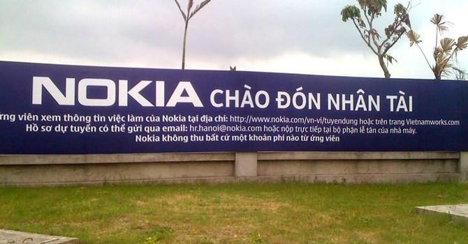 Tại sao Microsoft dời dây chuyền Nokia từ TQ sang VN?