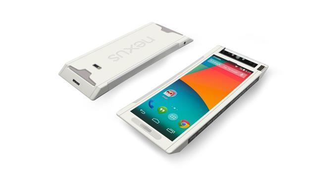 Ngắm smartphone Nexus 360 phiên bản 'biến hình'