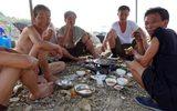 Theo chân người Triều Tiên đi tắm biển