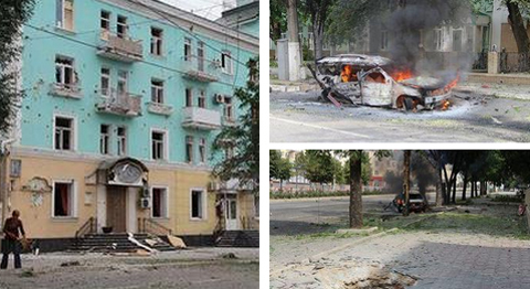 Mỹ dọa trừng phạt Nga vì cứu trợ đông Ukraina