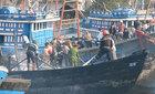 Nổ tàu chở dầu, 5 người thương vong