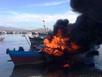 Nổ tàu chở dầu: 2 người chết, 3 bị thương