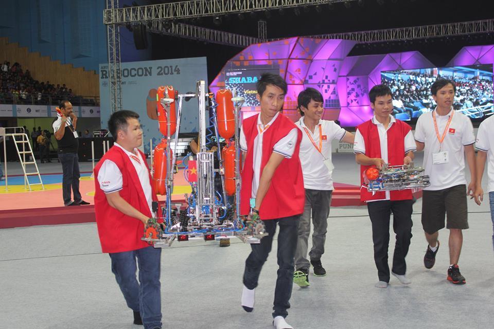 Robocon, Châu Á Thái Bình Dương, Việt Nam, vô địch, lần thứ 4, Nhật Bản