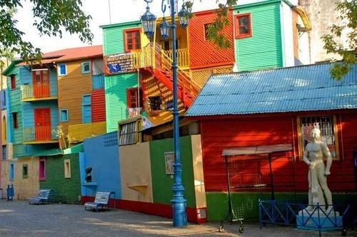 thành phố sắc màu