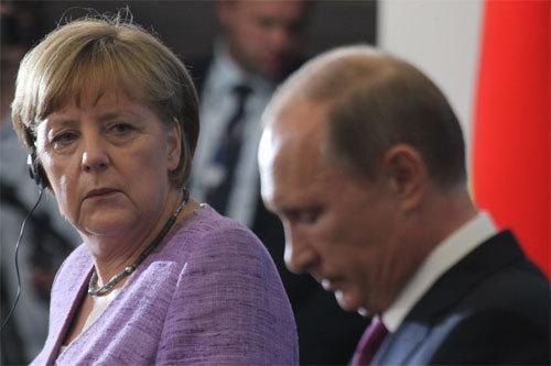 Đức đòi Nga giải thích chuyện xâm nhập đông Ukraina