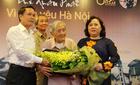 Nhà nghiên cứu trăm tuổi giành giải thưởng về Hà Nội