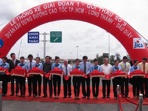 cao tóc, thông xe, VEC, TP Hồ Chí Minh - Long Thành - Dầu Giây