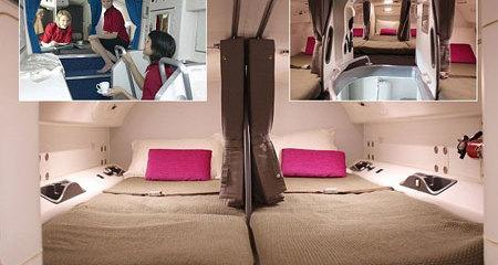 Tiết lộ góc bí mật trên máy bay chở khách