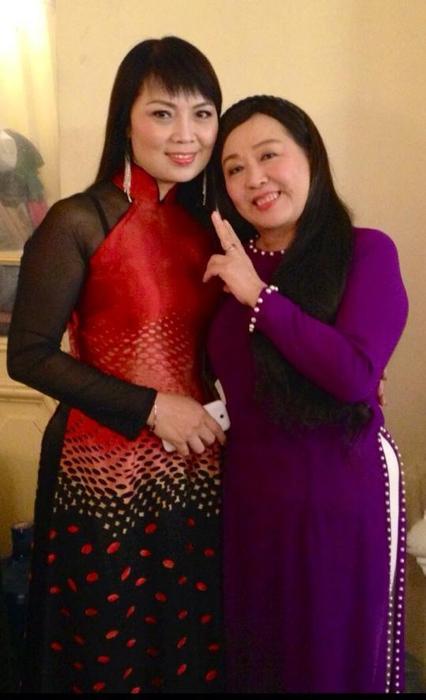 """NSND Thu Hiền """"xì teen"""" bên NSƯT Thái Bảo"""