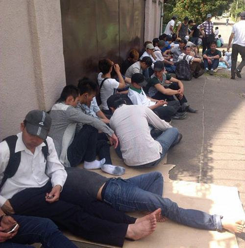 100 lao động Việt phải đi ăn xin ở Belarus