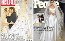 Xem bức ảnh cưới đầu tiên của Angelina Jolie