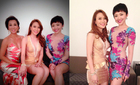 Mỹ Tâm váy ngắn làm dáng bên Kỳ Duyên, Tóc Tiên