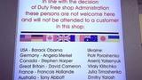 Sân bay Nga cấm bán hàng cho một loạt lãnh đạo Mỹ, EU